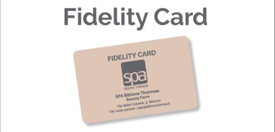 Bibione Terme Fidelity Card